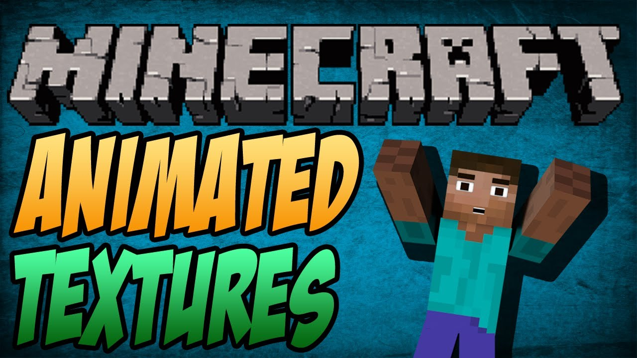 Minecraft Moving Texture Pack