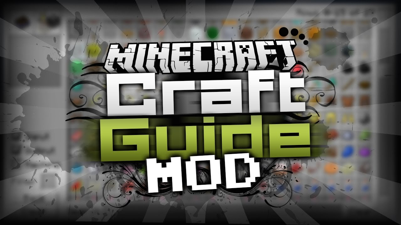 crafting guide mod 1.7 10