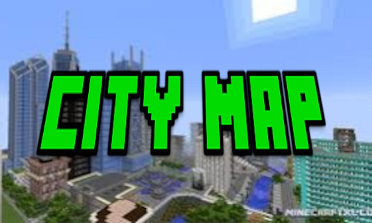 Minecraft 1.12.2 City Map